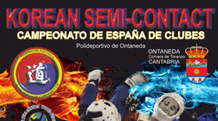 Campeonato de España de clubes. Korean semi-contact