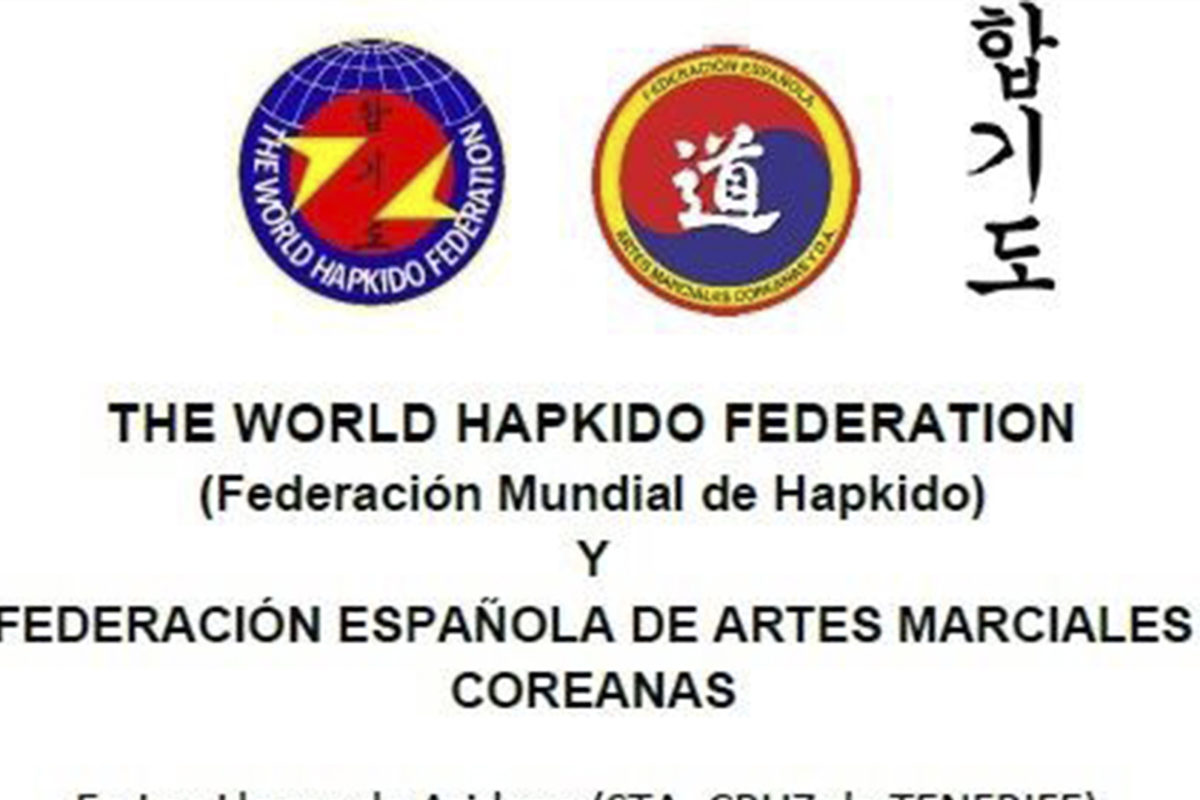 Convenio de colaboración entre The World Hapkido Federation y FEDAMC