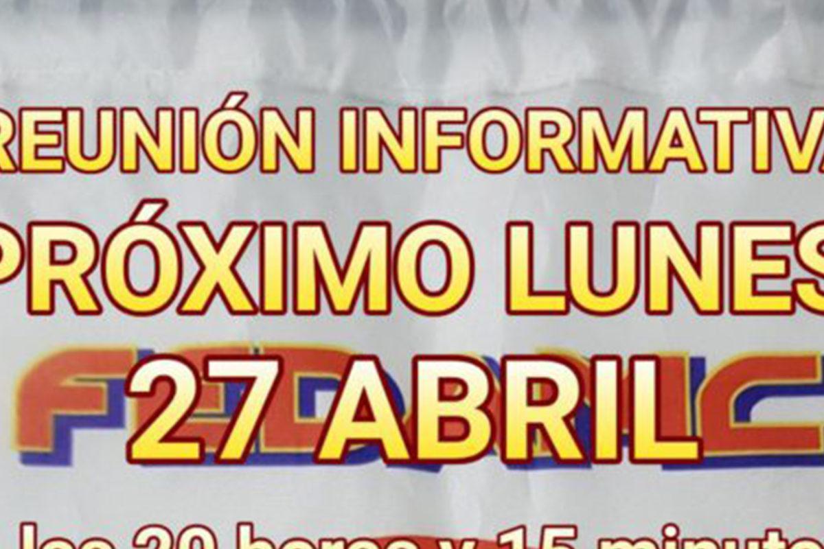 Reunión 27 abril