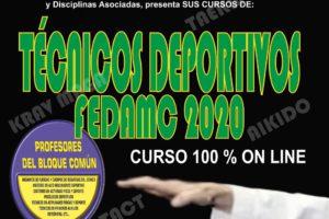 Curso Técnico deportivo fedamc 100% online