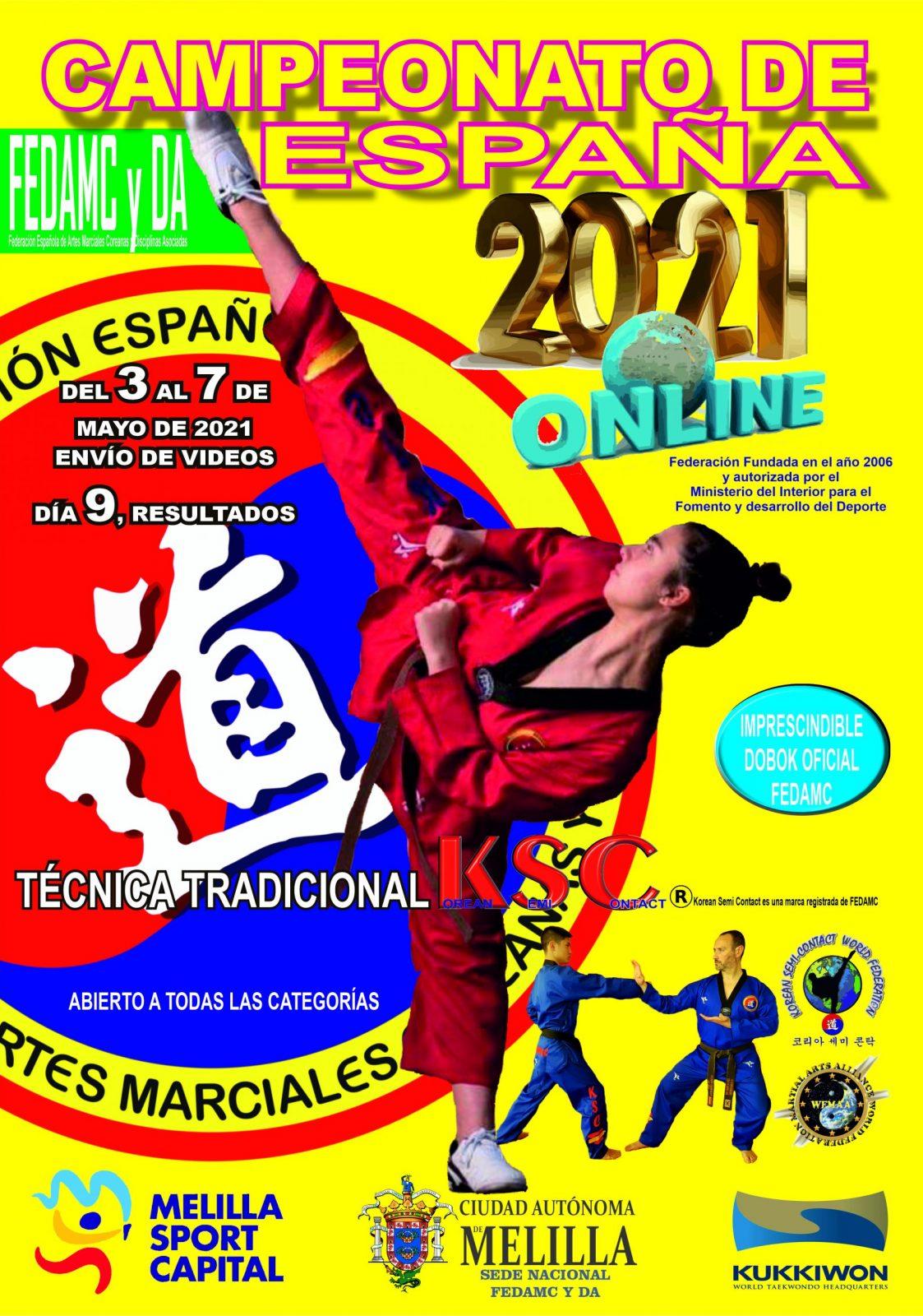 CAMPEONATO DE ESPAÑA ONLINE 2021
