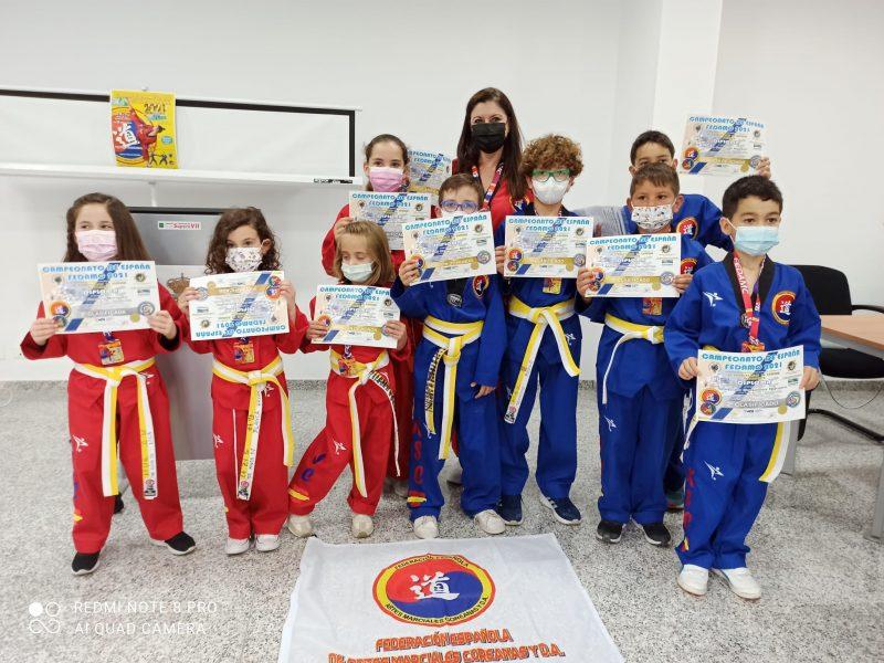 Entrega de medallas y diplomas campeonato de España de técnica 2021