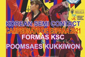 Korean Semi contact. Campeonato de España 2021. Roquetas de Mar